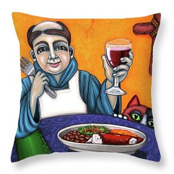 San Pascual Cheers Throw Pillow