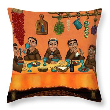San Pascuals Table Throw Pillow
