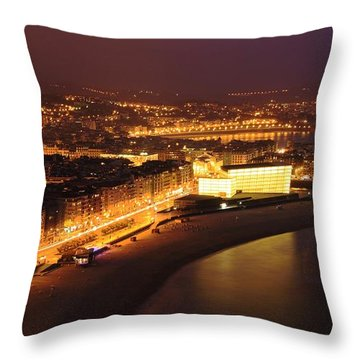 Throw Pillow featuring the photograph San Sebastian 25 by Mariusz Czajkowski