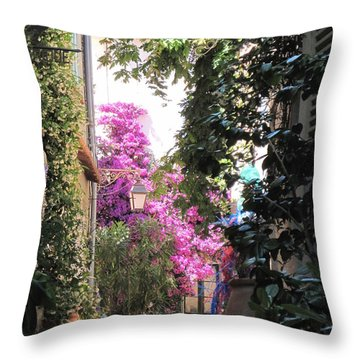 St Tropez Throw Pillow