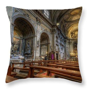 San Vincenzo Trevi 2.0 Throw Pillow by Yhun Suarez