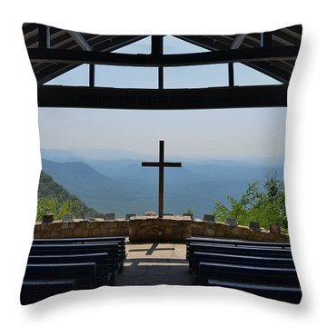 Sanctuary Throw Pillow by Bob Sample