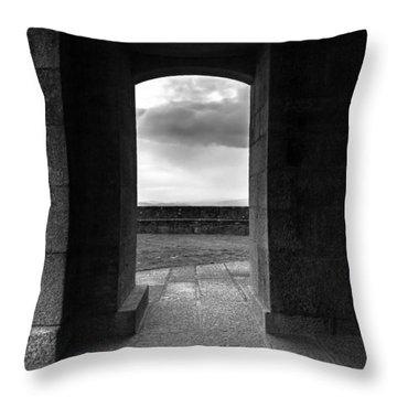 Sanctuary Throw Pillow by Edgar Laureano
