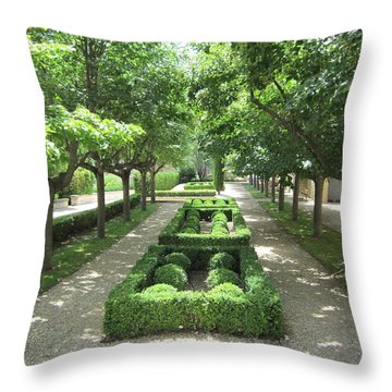 Throw Pillow featuring the photograph Sanctuary by Pema Hou