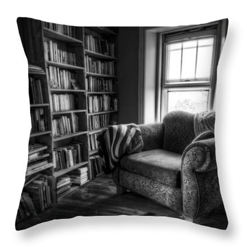 Sanctuary Throw Pillow by Scott Norris