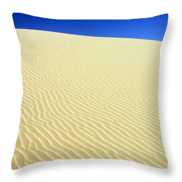 Throw Pillow featuring the photograph Sand Dune by Ramona Johnston