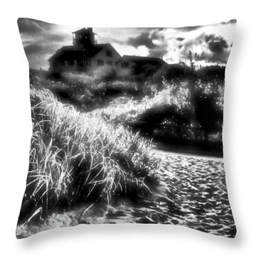 Throw Pillow featuring the photograph Sand In Ma Shoes by Robert McCubbin