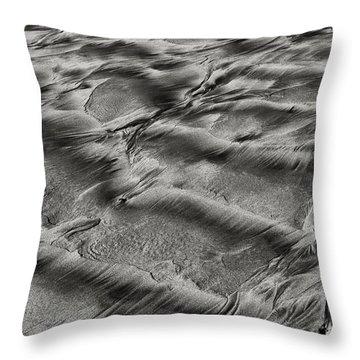 Sand Patterns 1 Throw Pillow