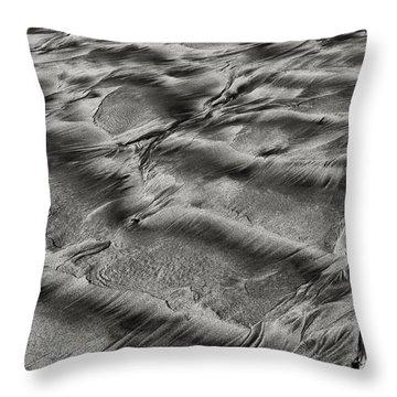 Sand Patterns 1 Throw Pillow