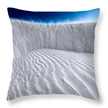 Sand Storm Brewing Throw Pillow
