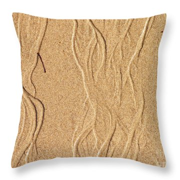 Sand Texture 2 Throw Pillow