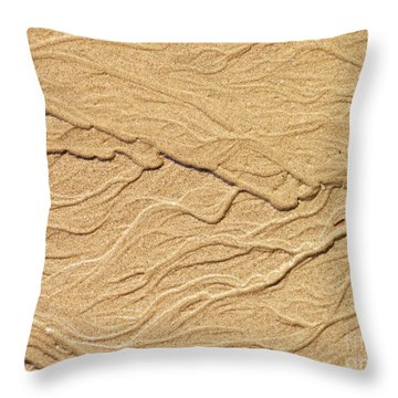 Sand Texture 5 Throw Pillow