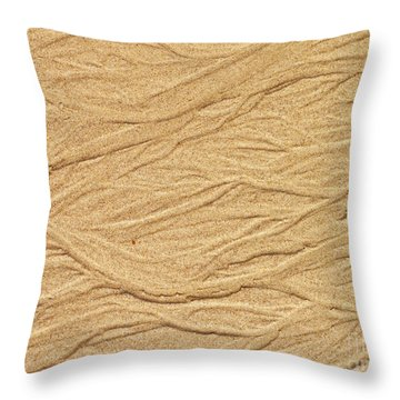 Sand Texture  6 Throw Pillow