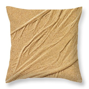 Sand Texture  7 Throw Pillow