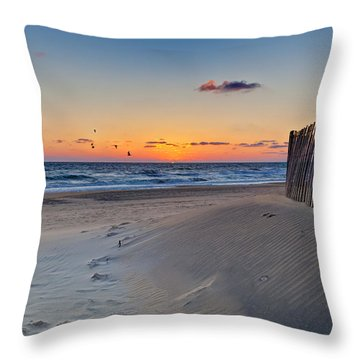 Sandbridge Dawn Throw Pillow