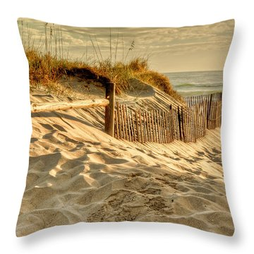 Sandbridge Morning Throw Pillow