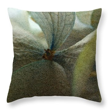 Throw Pillow featuring the photograph Sandflower by WB Johnston