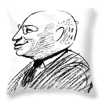 Sandor Ferenczi (1873-1933) Throw Pillow