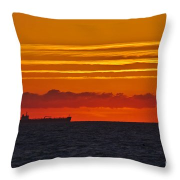 Sandown Sunrise Throw Pillow