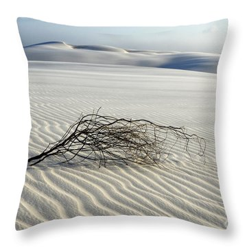 Sands Of Time Brazil Throw Pillow by Bob Christopher