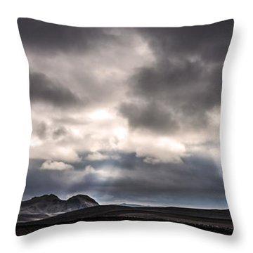 Sands Of Time Throw Pillow by Gunnar Orn Arnason