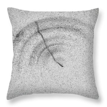 Throw Pillow featuring the photograph Sandscape No.1 by Gary Slawsky