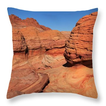 Sandstone Muffins Throw Pillow