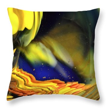 Sandstone Portal Throw Pillow