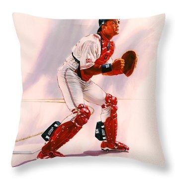 Sandy Alomar Throw Pillow