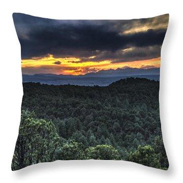 Sangre De Cristo Mountains Throw Pillow