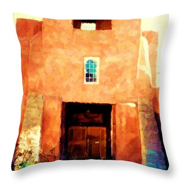 Sanmiguel Throw Pillow by Desiree Paquette