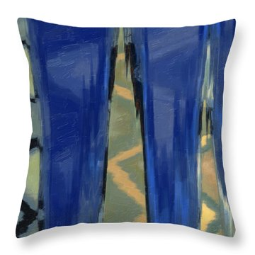 Sans Titre 789 Throw Pillow