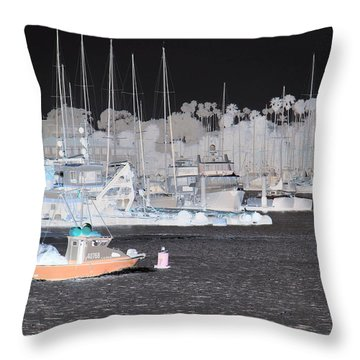 Santa Barbara 1 Throw Pillow