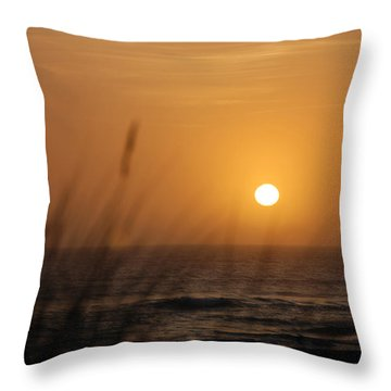 Throw Pillow featuring the photograph Santa Cruz Sunset by Shane Kelly