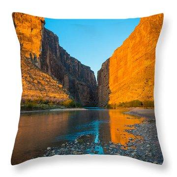 Santa Elena Dawn Throw Pillow
