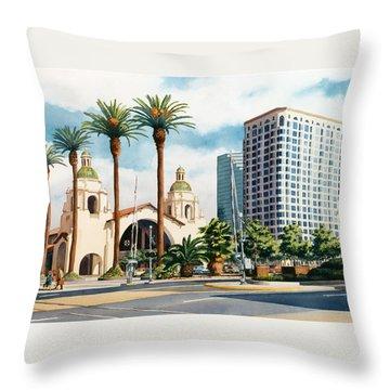 California Mission Throw Pillows