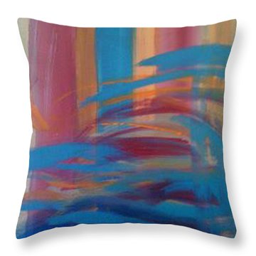 Santa Fe Hues Throw Pillow