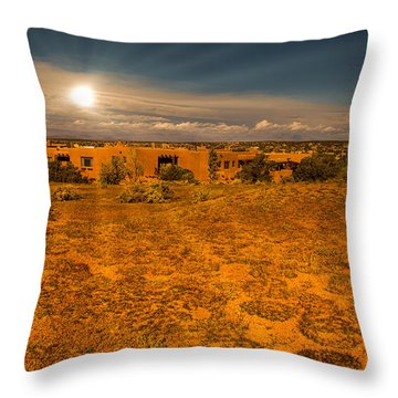 Santa Fe Landscape Throw Pillow