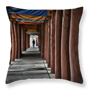 Santa Fe Nm 4 Throw Pillow