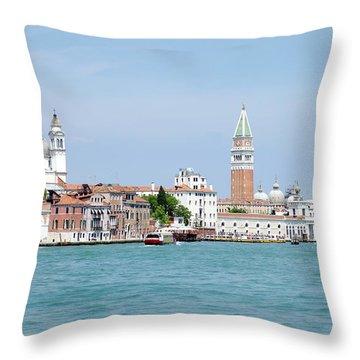 Santa Maria Della Salute Throw Pillow
