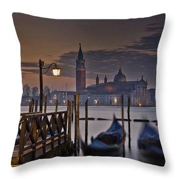 Throw Pillow featuring the photograph Santa Maria Maggiore by Marion Galt