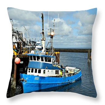 Santa Maria Offload Throw Pillow