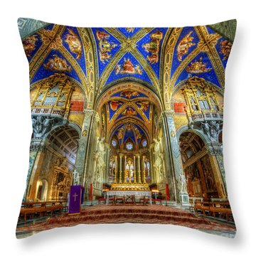 Santa Maria Sopra Minerva 2.0 Throw Pillow
