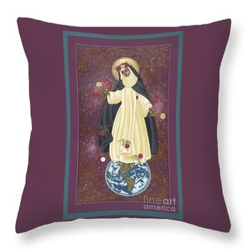 Santa Rosa Patroness Of The Americas 166 Throw Pillow