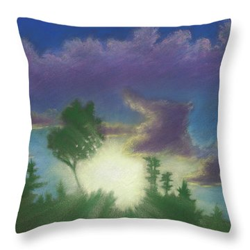 Santee Sunset 02 Throw Pillow