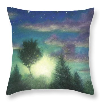 Santee Sunset 03 Throw Pillow