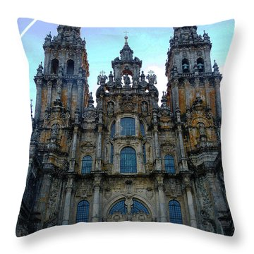 Santiago Skyline Throw Pillow