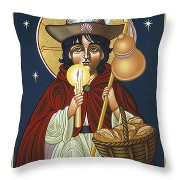 Santo Nino De Atocha 133 Throw Pillow