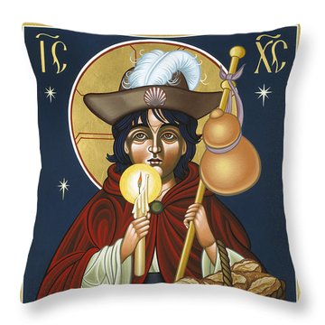 Santo Nino De Atocha 133 Throw Pillow