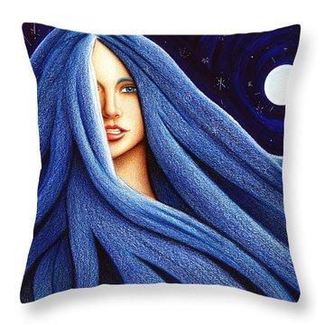 Sapphyre Throw Pillow
